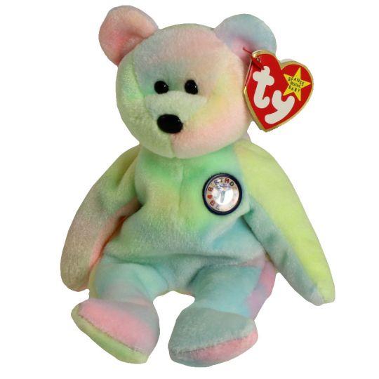 Ty Beanie Baby - BB Birthday Bear