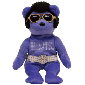 Ty Beanie Baby - Beanie Hawaii the Elvis Bear