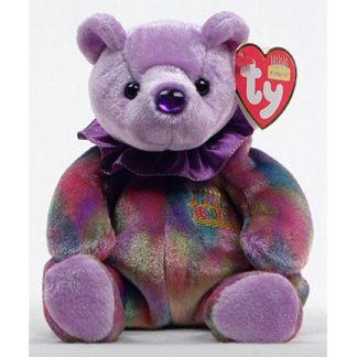 Ty Beanie Baby - February the Birthday Bear