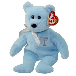 Ty Beanie Baby - Happy Hanukkah the Bear (Menorah on chest)