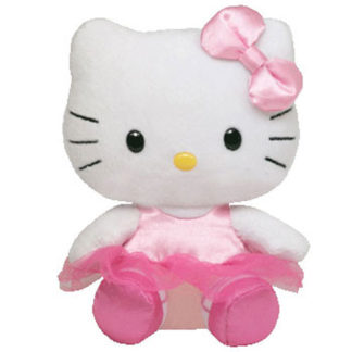 Ty Beanie Baby - Hello Kitty - Ballerina