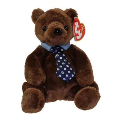 Ty Beanie Baby - Hero the Father's Day Bear