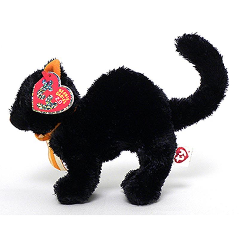 TY Beanie Baby 2.0 - Scaredy the Black Cat