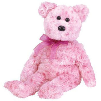 Ty Beanie Baby - Smitten the Pink Bear