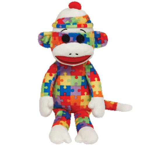 Ty Beanie Baby - Sock Monkey Puzzle