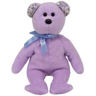 Ty Beanie Baby - Springer the Purple Bear