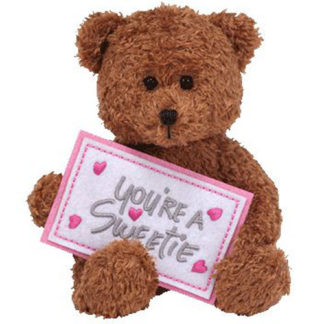 Ty Beanie Baby - You're A Sweetie the Bear