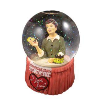 Dave Grossman Creations I Love Lucy Vitameatavegamin Musical Snow Globe