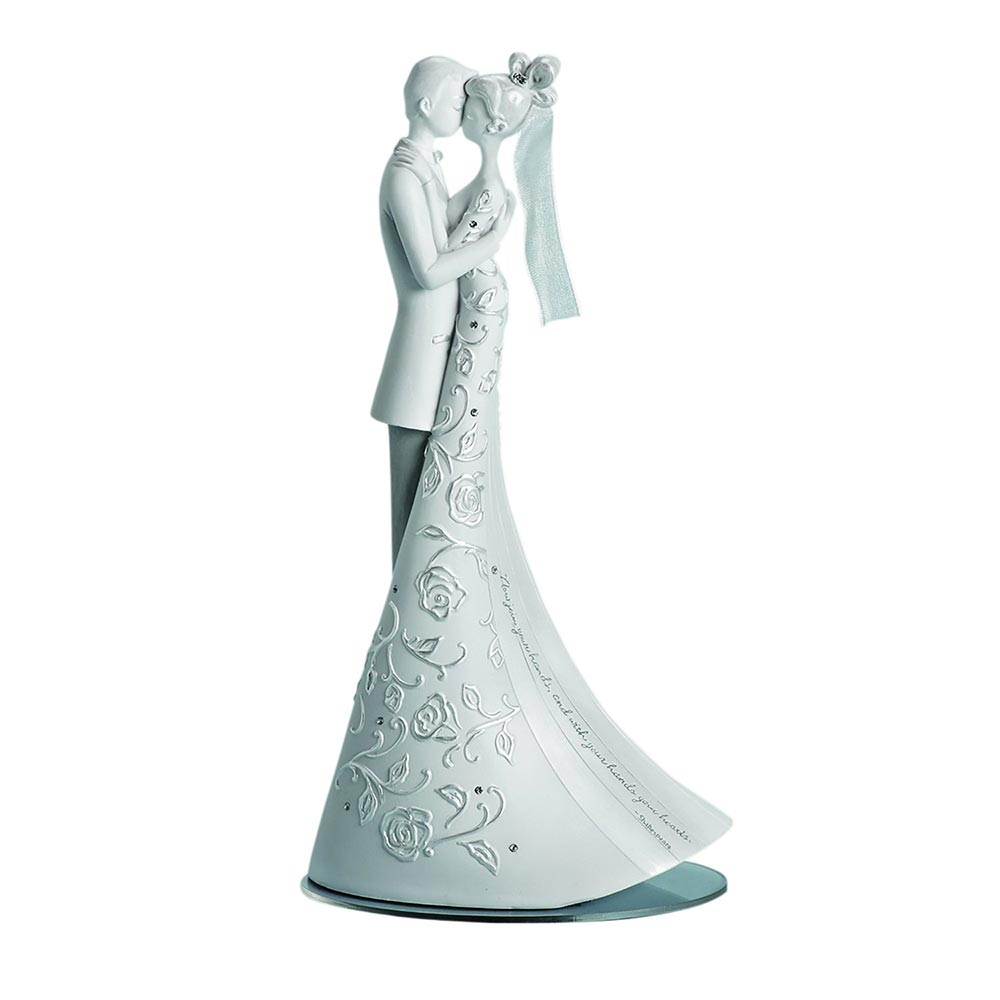"""Language of Love """"First Dance"""" Wedding Cake Topper, 9-Inch"""