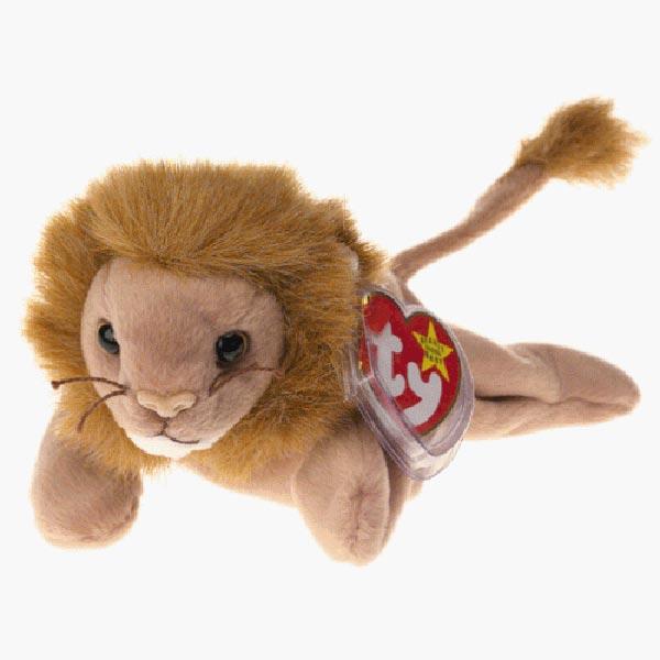 TY Beanie Baby - Roary the Lion