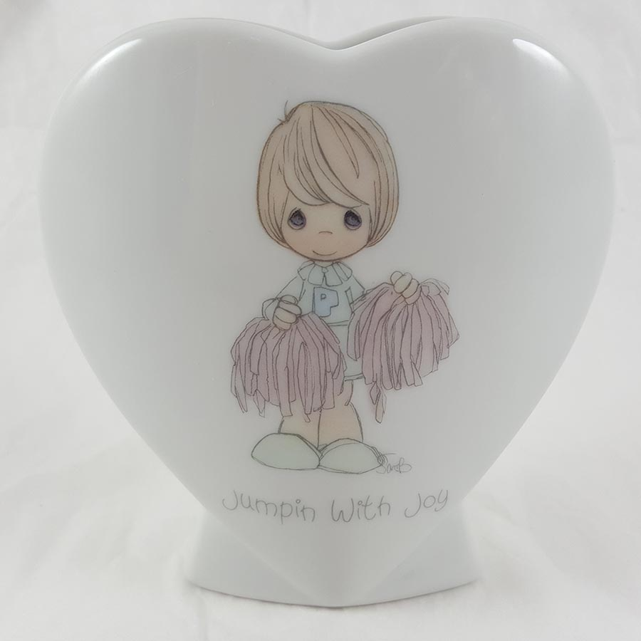 Jumpin with Joy Heart Shaped Vase