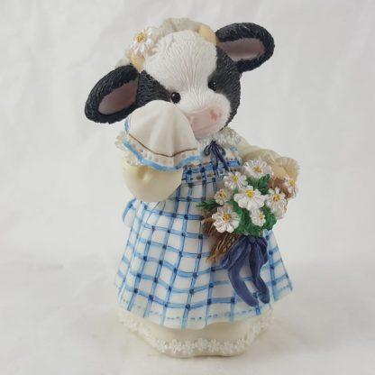 Enesco Mary's Moo Moos Milkmaid Of Honor Maid Of Honor Figurine