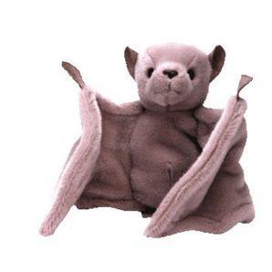 TY Beanie Buddy - Batty the Bat (Brown Version)