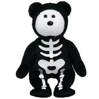 TY Beanie Baby - Boneses the Skeleton Bear