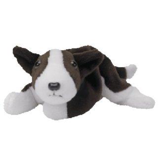 TY Beanie Baby - Bruno the Bull Terrier Dog