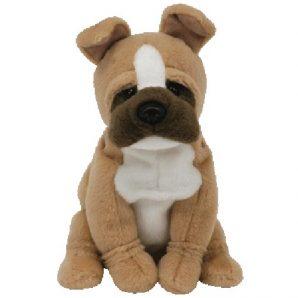 TY Beanie Baby - Cargo the Bulldog