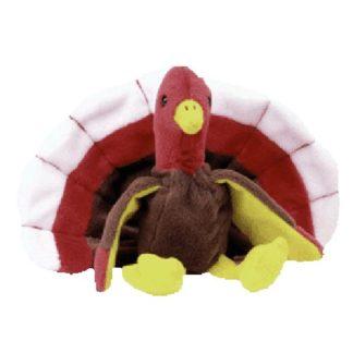 TY Beanie Baby - Gobbles the Turkey