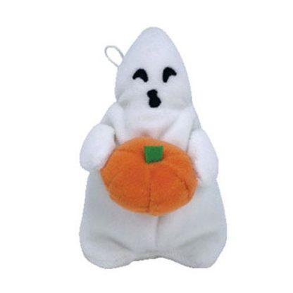 TY Halloweenie Beanie Baby - Ghoul the Boy Ghost