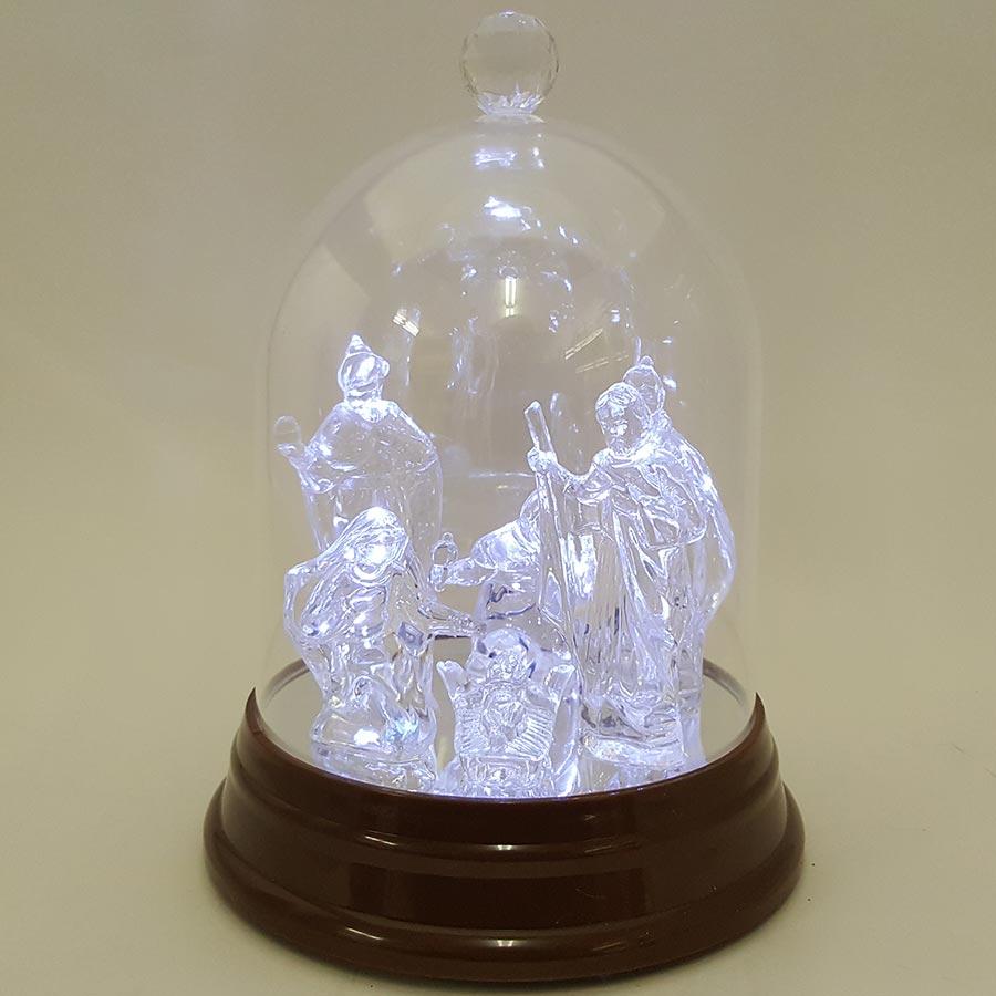 Roman Inc LED Holy Family Dry Dome