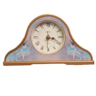 Linden Impressionist Ballerina Motif Alarm Clock