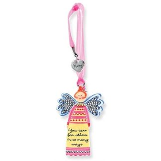 Always An Angel w/Charm Nanny Angel Ornament