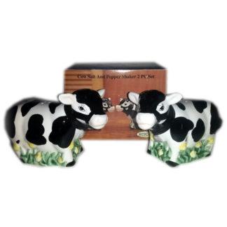 Kitchen Creations Cow Salt & Pepper Shaker Set