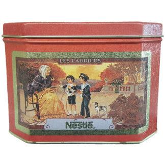 Bristolware Vintage Nestle Les Lauriers Tin