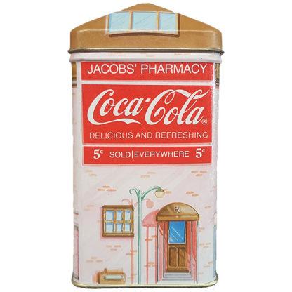 Bristolware Vintage Coca-Cola Jacob's Pharmacy Tin