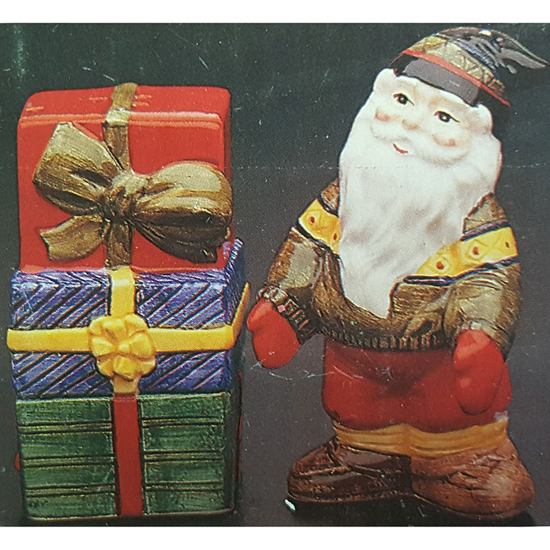 Potpourri Designs Salt and Pepper Elf w/ Gift Pack