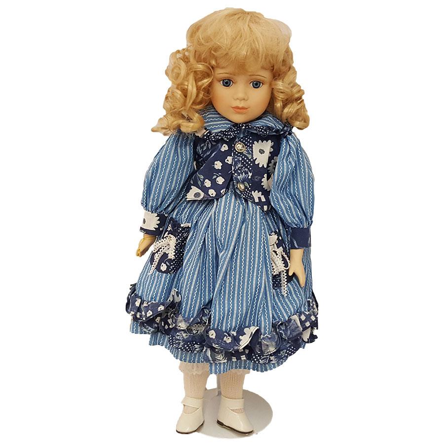 """Morning International Doll Crafter Allison 18"""" Porcelain"""
