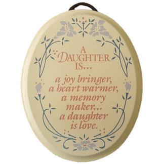 Dexsa A Daughter Is Textual Art Wood Plaque
