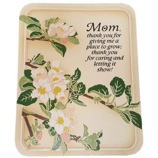 Dexsa Mom Thank You Textual Art Wood Plaque