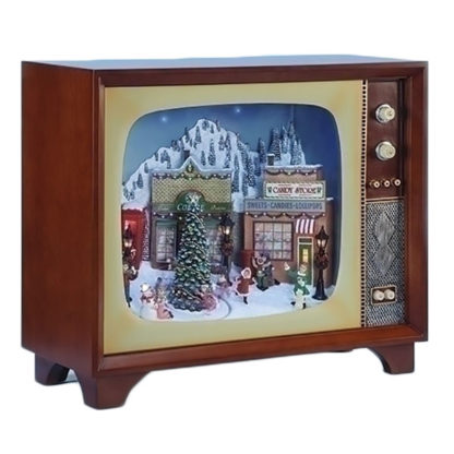"""Roman Musical 20"""" LED Village TV with Rotation"""