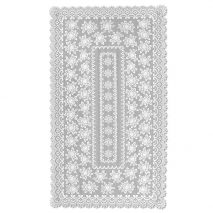Herritage Lace Meadow Lace Rectangle Tablecloth Ecru 72""