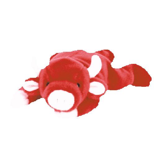 TY Beanie Buddy - Snort the Bull (14 inch)