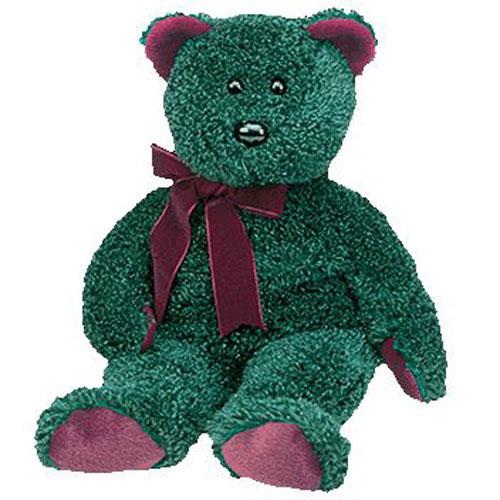 TY Beanie Buddy - 2001 Holiday Teddy