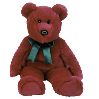 TY Beanie Buddy - Cranberry Teddy (14 inch)