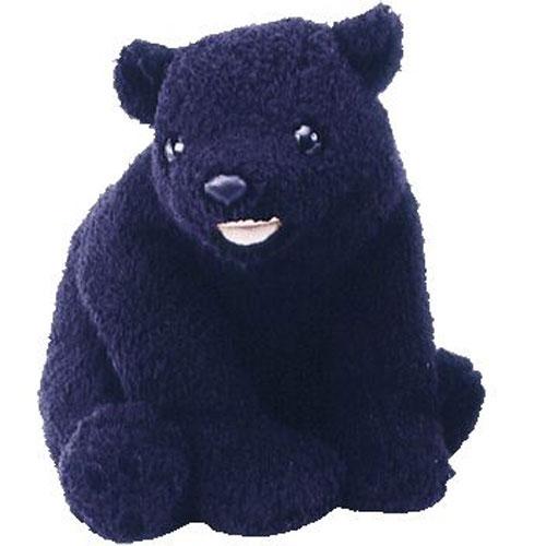 TY Beanie Buddy - Cinders the Bear (8 inch)