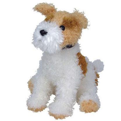 TY Beanie Buddy - Corkie the Wire Fox Terrier (14 inch)