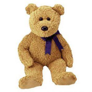 TY Beanie Buddy - Fuzz the Bear (13.5 inch)