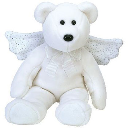 TY Beanie Buddy - Herald the Angel Bear (13.5 inch)