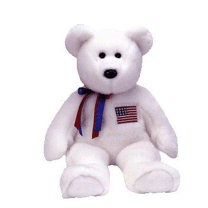 TY Beanie Buddy - Libearty the Bear (14 inch)