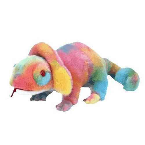 TY Beanie Buddy - Rainbow the Chameleon (12.5 inch)