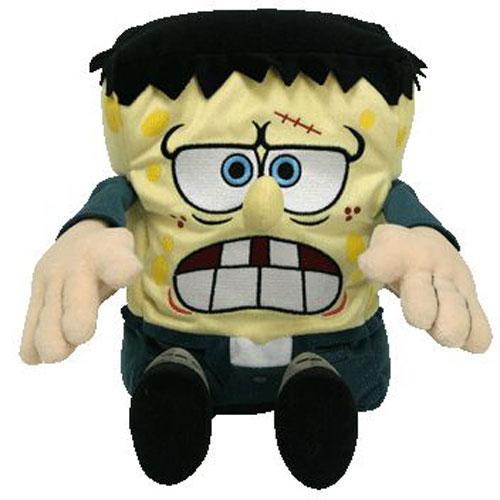 Ty Beanie Buddy - SpongeBob Squarepants FrankenStein