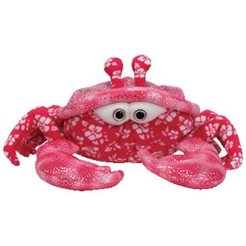 TY Beanie Buddy - Sunburst the Pink Crab