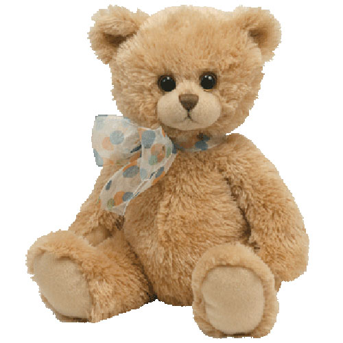 TY Classic Plush - Bixby the Brown Bear