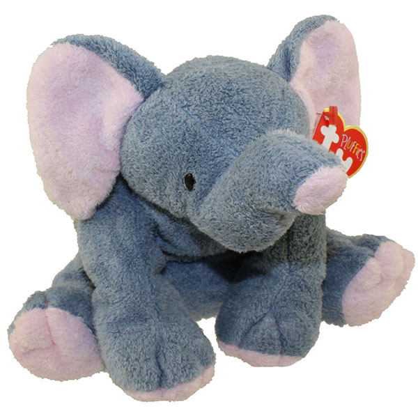 TY Pluffies - Winks the Elephant (8 inch)