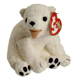 TY Beanie Baby - Aurora the Polar Bear (6.5 inch)