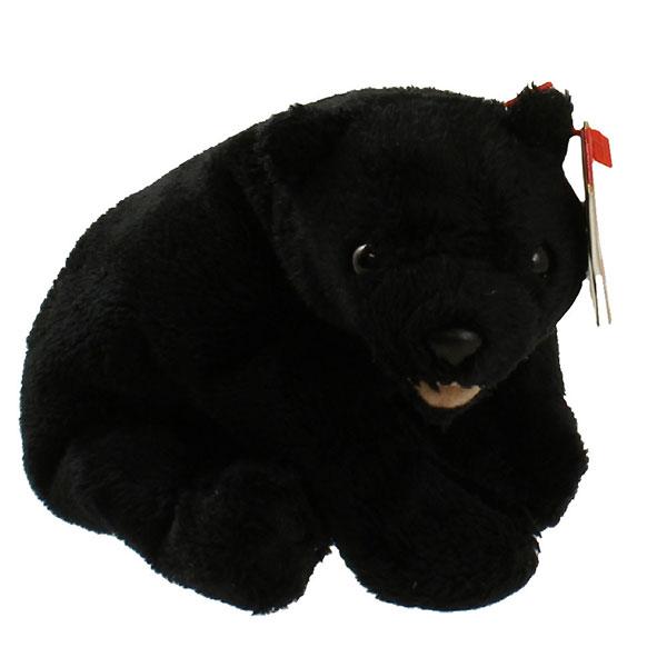 TY Beanie Baby - Cinders the Bear (5 inch)