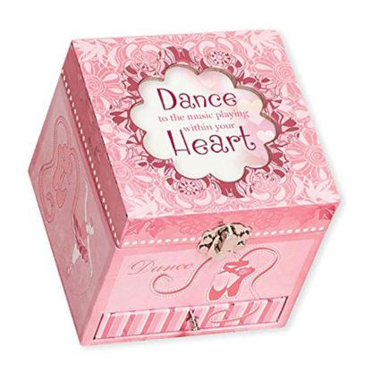 Cottage Garden Belle Papier Dance Music Box